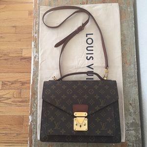Louis Vuitton Monceau 28 w/Strap